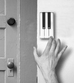 Pianobell – A creative door bell with piano keys