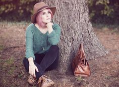 Palladium Boots, Autumn Style, Fall Fashion, Blogger Looks, Fall Look, Herbst Mode, Rosa Haare