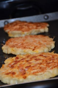 Macaroni and Cheese Pancakes. This could be revolutionary.