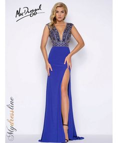 Mac Duggal 66048M Spring 2017 Prom Collection dress.