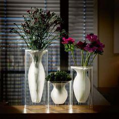 Vaso da fiori fluttuante | I fiori in armonico equilibrio