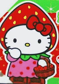 HELLO KITTY / Shizuoka strawberry JAPAN