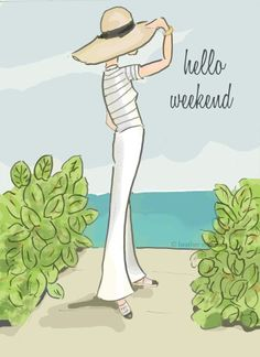 Time to recover, rejoice, rejuvenate. Have a wonderful weekend