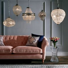 Dante chandelier pendant john lewis chandeliers and pendants buy john lewis lucia crystal chandelier crystalclear online at johnlewis aloadofball Image collections