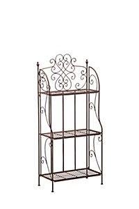 FEMININE SCROLL BAKERS RACK MEDIUM #mrpyourhome