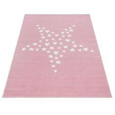 Tähtönen plyysimatto pinkki - Tuppu-Kaluste Bambi, Pink Rug, Rug Size, Playroom, Kids Rugs, Stitch, Crafts, Color, Design
