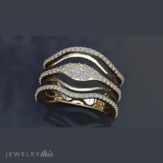 3D Jewelry Design: Fashion Ring, Mother's Day, Organic, Wedding Set style [1709-121498] » Jewelrythis