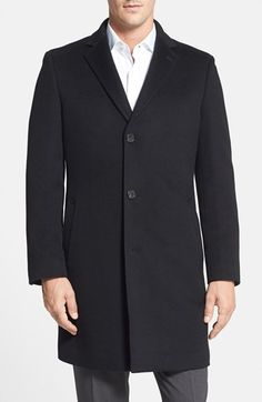 John W. Nordstrom® 'Clifton' Cashmere Topcoat available at #Nordstrom
