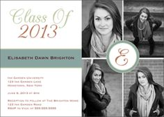 Get 10 FREE graduation announcements + 50% off your order! Ends May 31, 2013