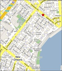 New Orleans Restaurants - Port of Call - French Quarter Restaurant and Bar - Famous Hamburgers - Map & Directions