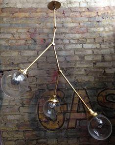 Tripod Chandelier   Omega Lighting Design