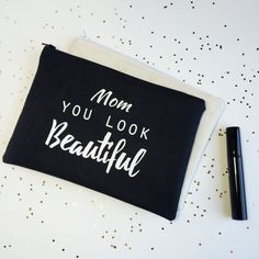 Personalized Makeup Bags Gifts for Mom  Mothers Day by BOLDbyTina