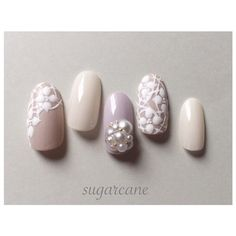 Flower Lace Nails!!!