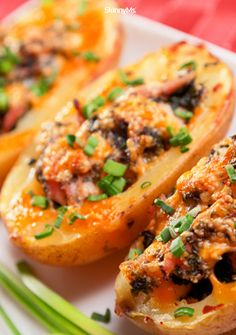 This Southwestern Stuffed Potatoes recipe goes above and beyond, delivering everything you love about baked potatoes (and more!) without sabotaging a healthy diet!