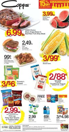 Copps Weekly Circular April 19 - 25, 2017 - http://www.olcatalog.com/copps/copps-weekly-ad.html
