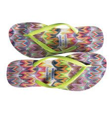 Missoni for Havaianas flip flops available @Nordstrom