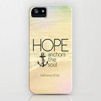 Hebrews 6:19 iPhone Case by Pocket Fuel | Society6