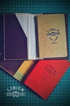 Nas Capas para Blocos de notas, já pode ter Blocos personalizados com a marca SONIUM LEATHER.
