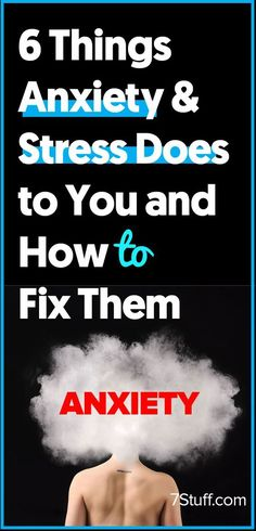Fixing anxiety and stress