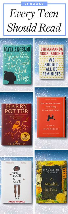 The books we read as teenagers have the potential to shape the type of adults we become (we'll never forget the first time we read Harry Potter and discovered we were a Gryffindor). Here, 21 books that will help every Gen Z-er become the best version of himself or herself. #books #teenbooks #booksforteens #booklist #bookstoread