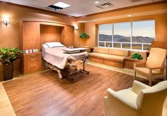 If I'm ever dying, take me here!! Nice Hospital Room in Reno NV