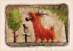 original work vintage illustration by ArtRobertRomanowicz on Etsy