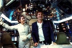 Leila and Han Solo