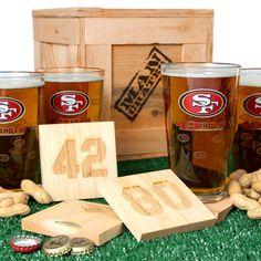 NFL Barware Man Crate   Man Crates