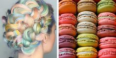 """""""Macaron Hair"""" Trend Brings the Colorful Beauty of Delectable Desserts to Hair - My Modern Met"""
