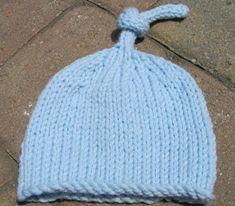Free Baby's Knit Hat Pattern | JJCrochet
