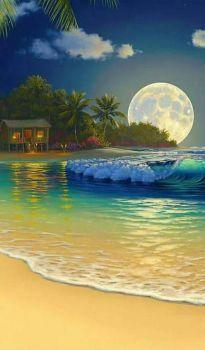 Imagenes Bonitas Amigosdeaquiydeallacompartiendo Gabitos is part of Beautiful moon - Beautiful Landscape Wallpaper, Beautiful Flowers Wallpapers, Beautiful Landscapes, Beautiful Gardens, Beautiful Nature Pictures, Beautiful Moon, Amazing Nature, Beautiful Scenery, Beach Wallpaper