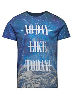 ALL-OVER PRINTED T-SHIRT, Cloud Dancer