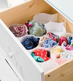 The Dresser Trick: it's a smart idea to put a clean set of sheets, towels, and pajamas in each dresser so that you'll know right where they are when you get to your new digs.