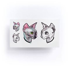 Items similar to Hairless cat tattoo Stickers Sphynx Cat tattoo Sphynx tattoo Kitten tattoo Cat tattoo Pet Tattoo Sticker Cat Temporary Tattoos Animal Tattoo on Etsy Sphynx Cat Tattoo, Kitten Tattoo, Cat Tattoos, Animal Tattoos, Tatoos, Trendy Tattoos, Small Tattoos, Hong Kong Tattoo, Catrina Tattoo