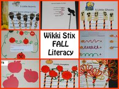 Best of Wikki Stix Fall Literacy - hands-on learning and play for #kids