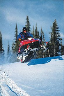 big_white snowmobile More Information, Great Places