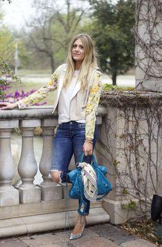 Devon Rachel: Floral Sleeves