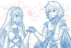 Fire Emblem Fates - Corrin x Azura <3