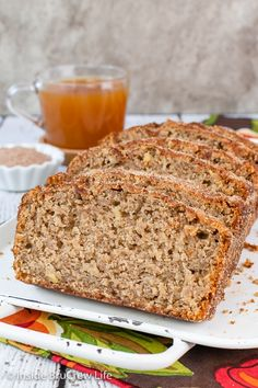 Apple Cider Bread - this easy sweet bread is made with fresh apples, apple cider, and spices and tastes like fall. It is a delicious recipe that will make your house smell like an apple orchard. Fruit Bread, Banana Bread, Bread Cake, Fresh Apples, Fall Desserts, Quick Bread, Savoury Dishes, Sweet Bread, Apple Recipes