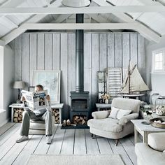 INTERIORS CRUSH | SHABBY CHIC COTTAGE IN CORNWALL living | weekend get away | coast | cozy | cottage