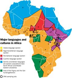Cultural Map Of Africa | Map Of Africa