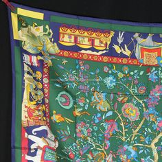Authentic+Hermes+Scarves | Home >> Hermes Scarves >> New Authentic Hermes Scarf Fantaisies ...
