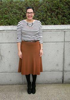 Fashion For Giants - black, white and cinnamon