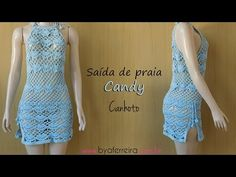 Bexy Adasme shared a video Bikinis Crochet, Beach Crochet, Crochet Tank, Knit Crochet, Dress With Cardigan, Crochet Videos, Crochet Designs, Crochet Clothes, Sexy Outfits