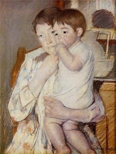 Mother and Child by the amazing and very under-rated American artist - Mary Cassatt