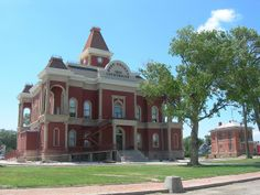 Bent County Courthouse & Jail. National Register of Historic Places. Las Animas, Colorado