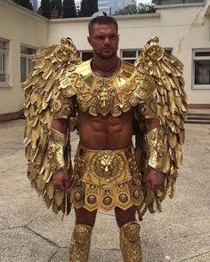 Carnival Outfits, Carnival Costumes, Fancy Dress, Dress Up, Greek Warrior, La Mode Masculine, Male Cosplay, Halloween Disfraces, Mode Inspiration