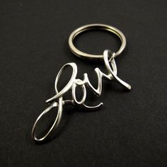 Carrie Bradshaw LOVE Keychain Sex and the City Movie