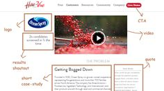 Example 2 – HireVue - Case Study Page