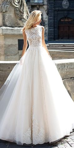 Oksana Mukha Wedding Dresses 2017 ❤ See more: http://www.weddingforward.com/oksana-mukha-wedding-dresses/ #wedding #dresses